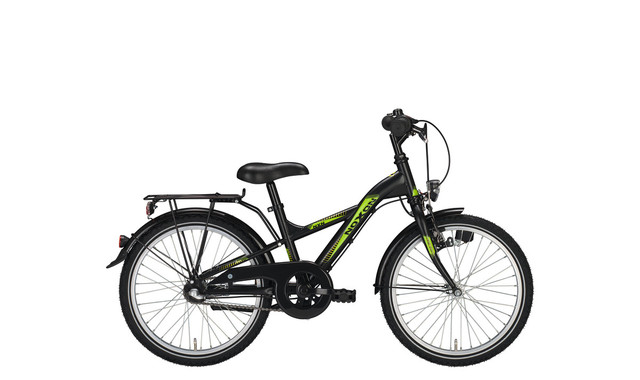 Noxon Boys Boys Bicycle 24 Inch 34cm 3S - Matt Black