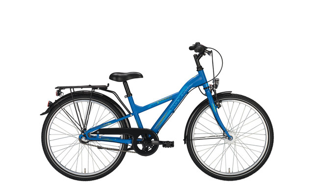 Noxon Boys ND Boys Bicycle 24 Inch 34cm 3S - Matt Blue
