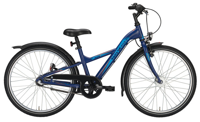 Noxon Boys Sport ND Boys Bicycle 24 Inch 34cm 7S - Matt Blue