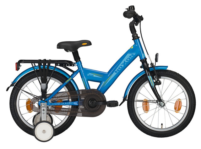 Noxon Crush Boys Bicycle 12 Inch - Blue/Black