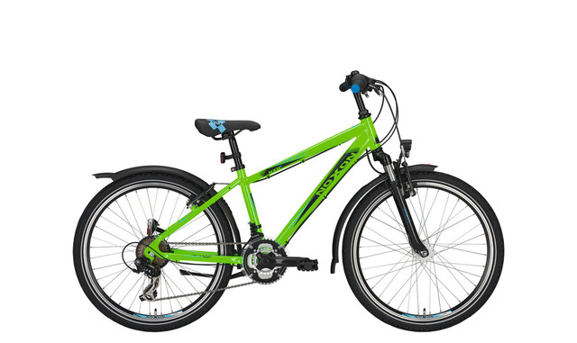 Noxon Duke FG ND Boys Bicycle 24 Inch 36cm 21S - Green
