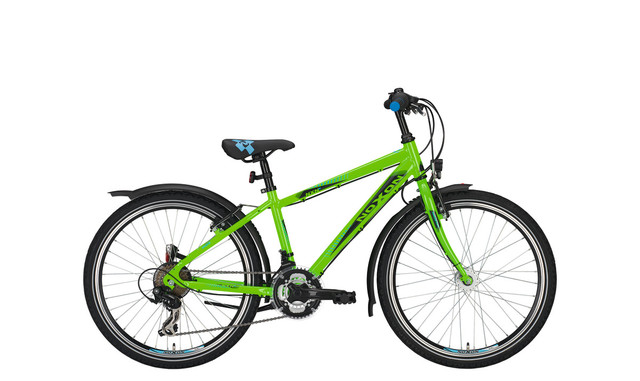 Noxon Duke ND Boys Bicycle 24 Inch 36cm 21S - Green