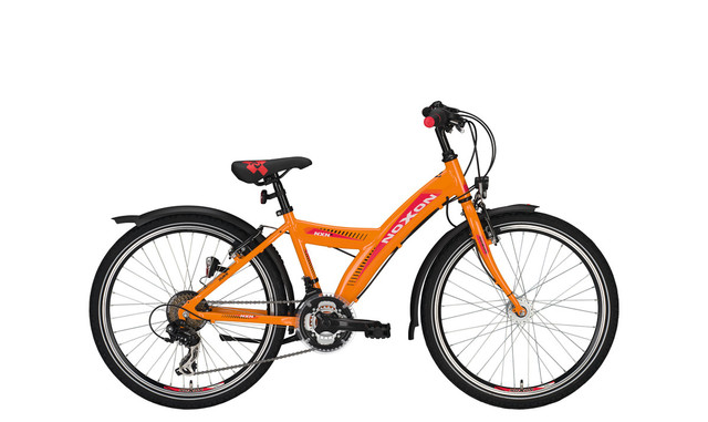 Noxon Duke ND Boys Bicycle 24 Inch 36cm 21S - Orange