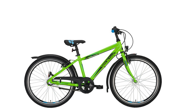 Noxon Duke ND Boys Bicycle 24 Inch 36cm 7S - Green