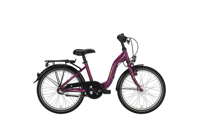 Noxon Girls ND Girls Bicycle 24 Inch 36cm 3S - Pearl Viole