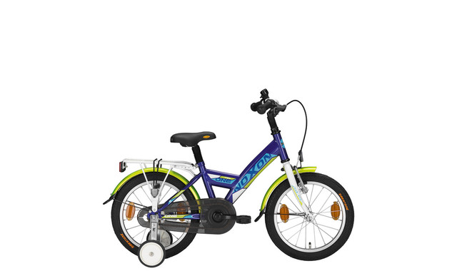 Noxon Boys Bike Boys Young Power 12 Inch Blue/Green