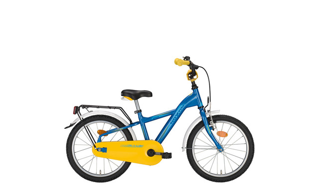 Noxon Kids Boys Bicycle 16 Inch 26cm 1S - Blue/Yellow