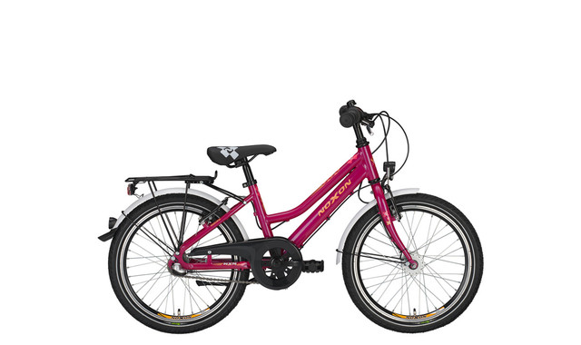 Noxon Rocky ND Girls Bicycle 24 Inch 36cm 3S - Purple
