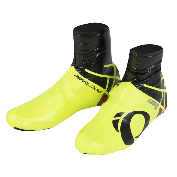 Pearl Izumi PRO Barrier Overshoe Yellow/Black - Size L