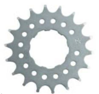 Point Single Speed Sprocket 17T for Cassette Hubs