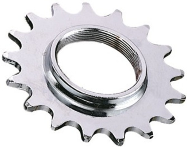 Point Sprocket 14T with Thread 1/8 Inch - Chromed