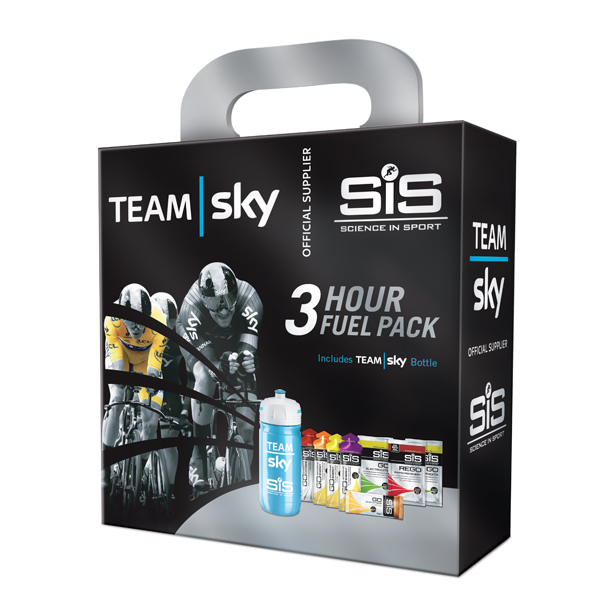 Scienceinsport Team Sky 3 Hour Fuel Pack Sports Nutrition