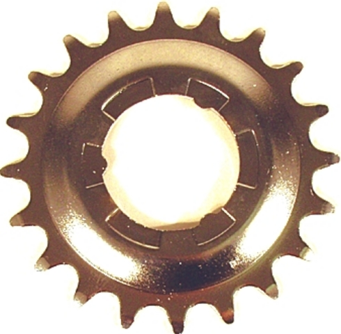 Shimano Sprocket Nexus 20T 3/4/7/8V Steel Offset - Silver