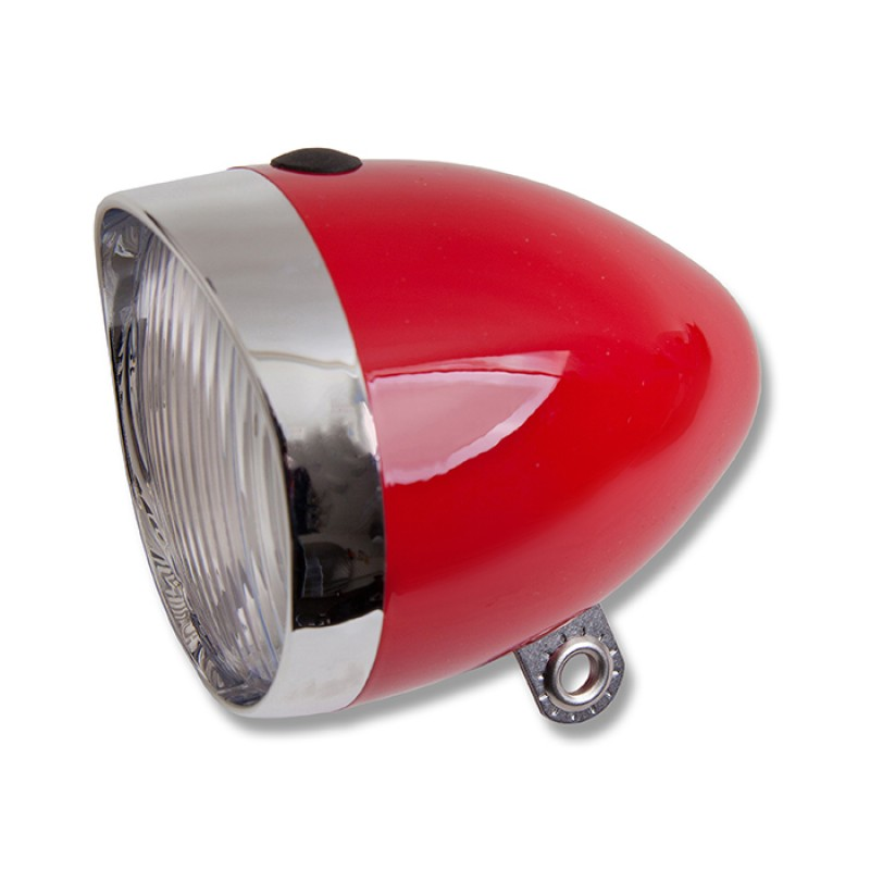 Starry Bicycle Headlight Red 5 LED Battery