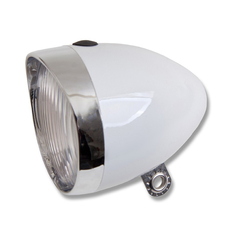 Starry Bicycle Headlight White 5 LED Battery