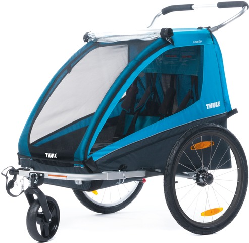 Thule Coaster XT Bicycle Trailer incl. Bicycle Set - Blue