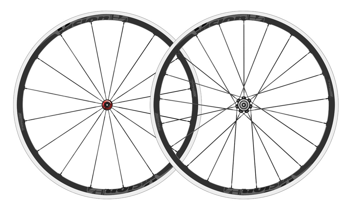 Vision Trimax 35 Wheelset Clincher Shimano 11V - Gray