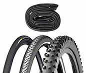 Bicycle Tire & Inner Tube