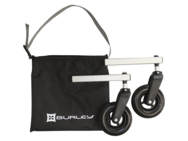 Burley Bicycle Trailer Walking Set With 2 Wheels
